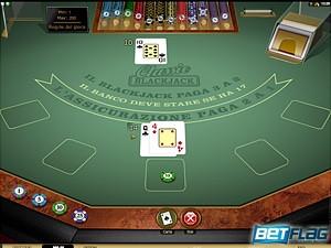 il blackjack di Betflag