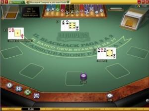 il blackjack di Betway