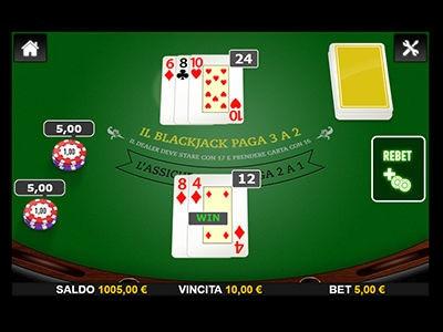 il blackjack di Big Casino