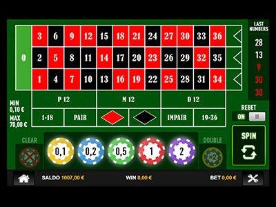 la roulette di Big Casino