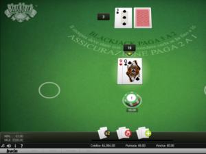 il blackjack di Bwin Casino