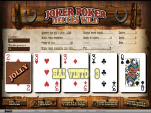 il videopoker di Bwin Casino