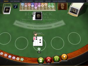 il blackjack di Casino.com