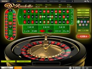 la roulette di Casino.com
