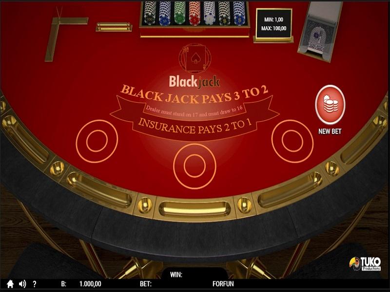 il blackjack di Codere