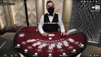 il blackjack di Fastbet