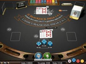 il blackjack di GD Casino