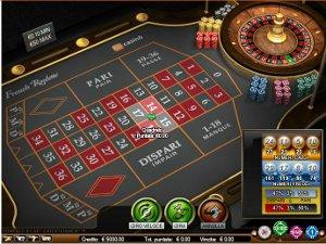 la roulette di GD Casino
