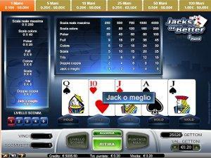 il videopoker di GD Casino