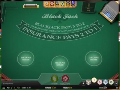il blackjack di LeoVegas