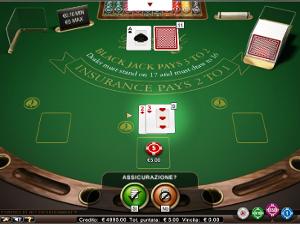 il blackjack di Merkur Win