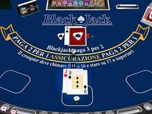 il blackjack di NetBet